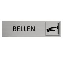 Aluminium Deurbordje Bellen