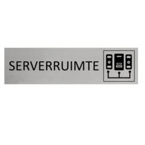 Aluminium Deurbordje Serverruimte