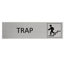 Aluminium Deurbordje Trap