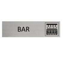 Aluminium Deurbordje Bar