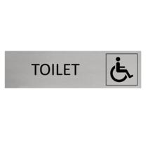 Aluminium Deurbordje Toilet Invalide
