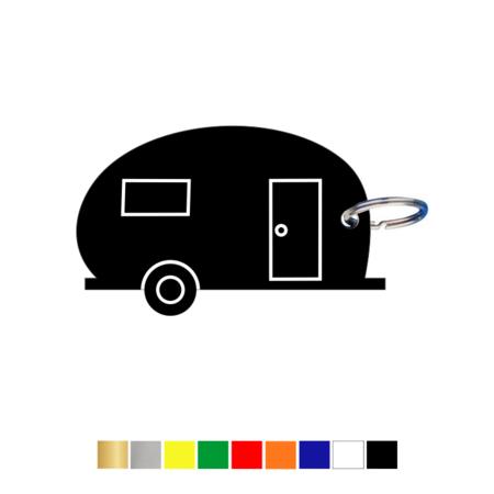 CombiCraft Sleutellabel of Sleutelhanger Caravan