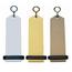 CombiCraft Big Bumerang Hotelsleutelhanger 30x100 mm blanco zonder gravering