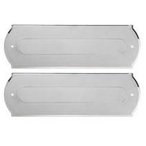 100% Elox Aluminium brievenbus 280x90mm