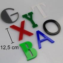 Plexiglas 3D Letters of Cijfers 125mm hoog