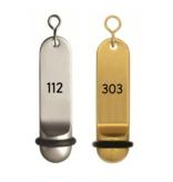 CombiCraft Big Classic Hotelsleutelhanger met Nummergravering