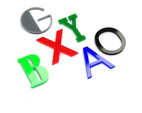 Plexiglas 3D Letters & Cijfers