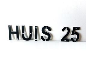 Acrylaat 3D Letters & Cijfers