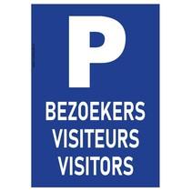 P-Bord, Parkeren bezoekers visiteurs visitors