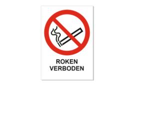 (Niet) Roken borden