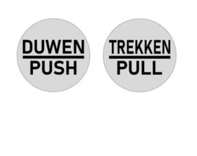 Duwen & Trekken bordjes