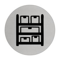 Aluminium Deurbordje Voorraadkast