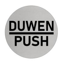 Aluminium deurbordje DUWEN - PUSH