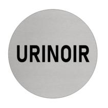 Aluminium deurbordje URINOIR