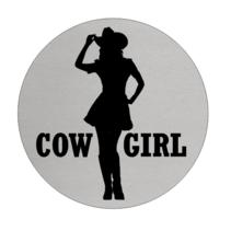 Toiletbordje Dames (Cowgirl)