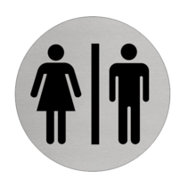 Toiletten - Mannen en Vrouwen toiletbordje