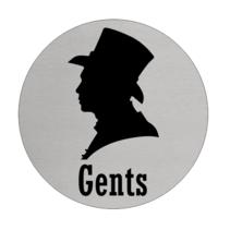 Toiletbordje Heren (Gents)