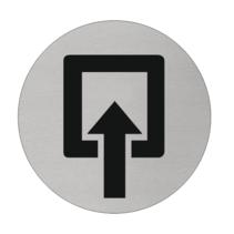 Ingang Aluminium pictogram bordje
