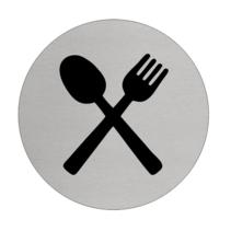 Restaurant, Kantine  Aluminium pictogram deurbordje