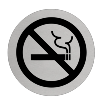 Rookverbod Aluminium pictogram deurbordje