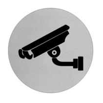 Camera aanwezig  Aluminium pictogram bordje
