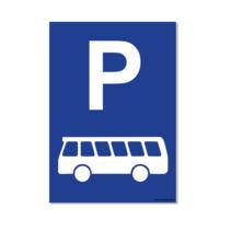 Parkeerplaats Bus Bord