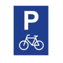 Parkeerplaats Fiets Bord