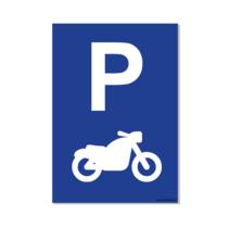 Parkeerplaats Motor Bord