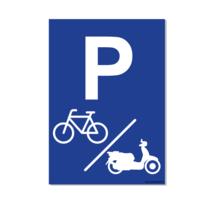 Parkeerplaats Fiets & Scooter Bord