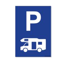 Parkeerplaats Camper Bord