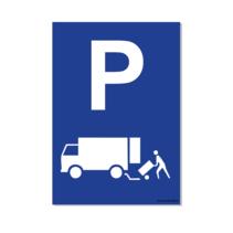 Parkeerplaats Laden en Lossen Bord