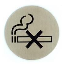 Edelstaal Bordje Niet-Roken
