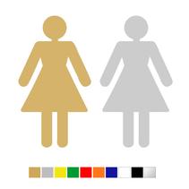 Plexiglas Toiletbordje Dames