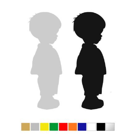 CombiCraft Plexiglas Toiletbordje Jongetje in 10 kleuren beschikbaar