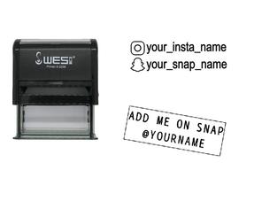 Social Media Stempels