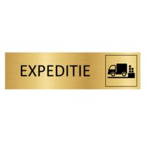 Goudkleurig Deurbordje Expeditie