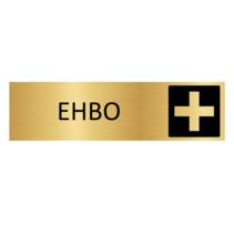 Goudkleurig Deurbordje EHBO