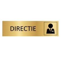 Goudkleurig Deurbordje Directie