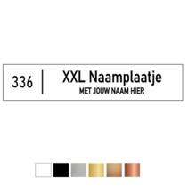 XL-Naamplaatje 150x30mm