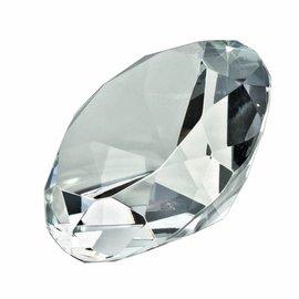 Glazen diamant, doorsnede 12cm