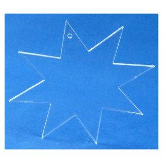 Persoonlijke (Kerst)ster, 104x90x5mm
