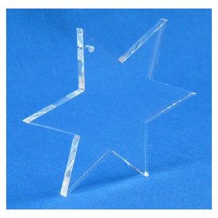 Ster van plexiglas, 90x90x5mm