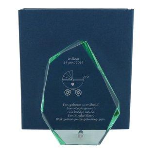 Glazen bokaal, 190x140x12mm