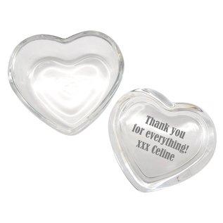Glazen hart met deksel 84x76x50mm