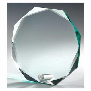 Glastrofee met pin, 150x150x12mm