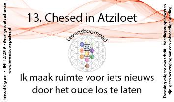 13 Chesed in Atziloet