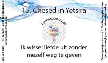 15 Chesed in Yetsira