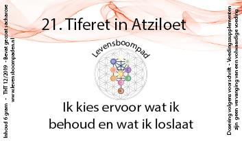 21 Tiferet in Atziloet