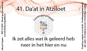 41 Da'at in Atziloet