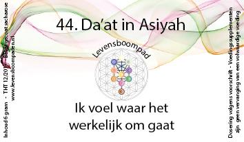 44 Da'at in Asiyah